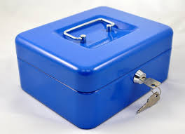 kasetka niebieska